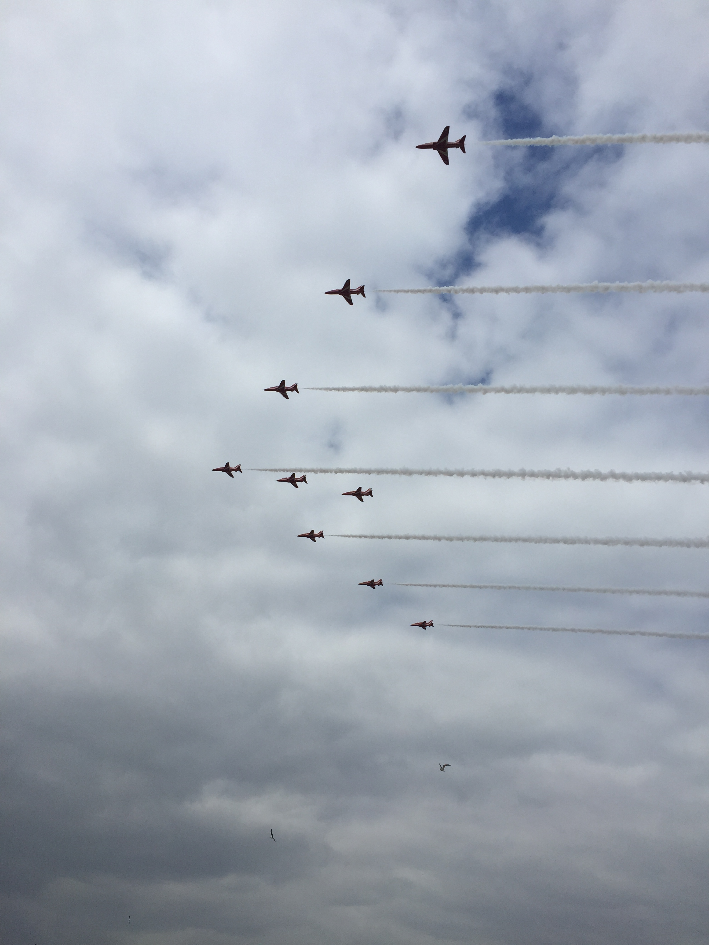 Red Arrows Weston Super Mare Ait festival beach
