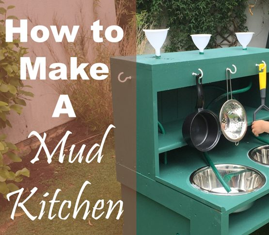 how to make a kids mud kitchen from scracth