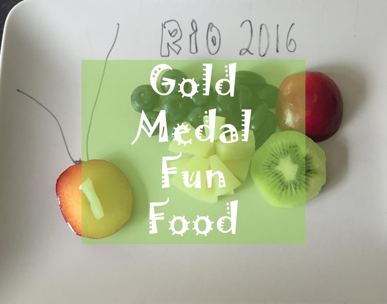 rio olympic fun food for kids toddlers party