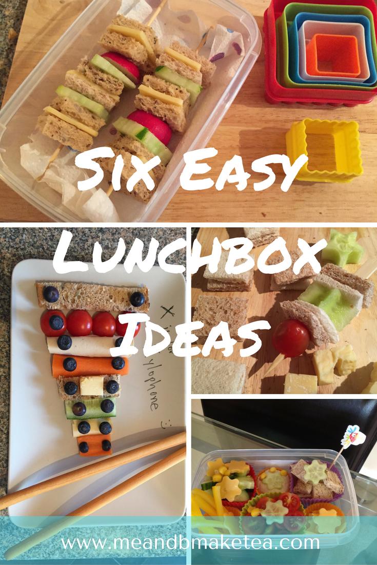 Six EasyLunchbox Ideas