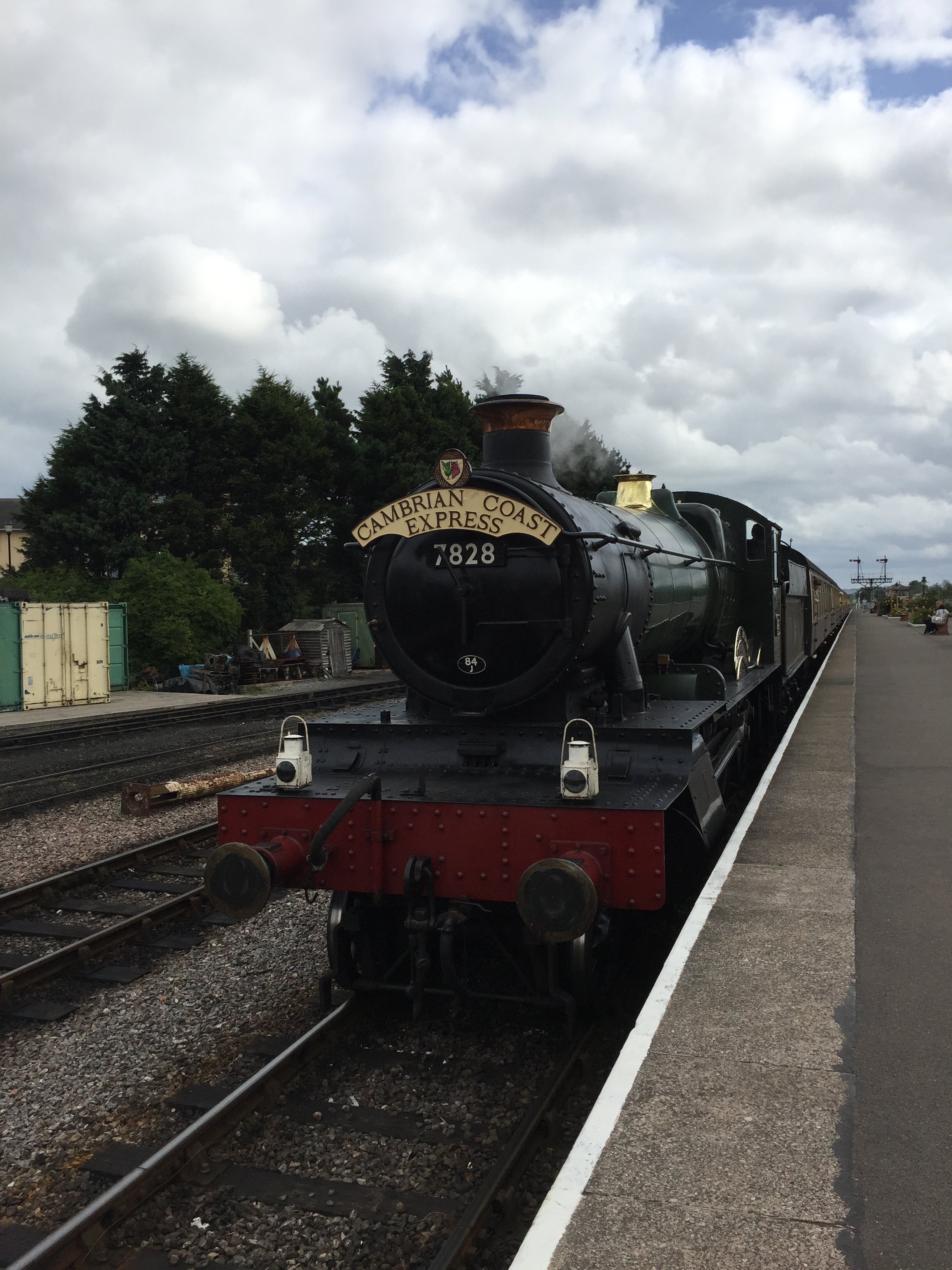 West Somerset Railway Bishops Lydeard Minehead review family kids toddlers babies