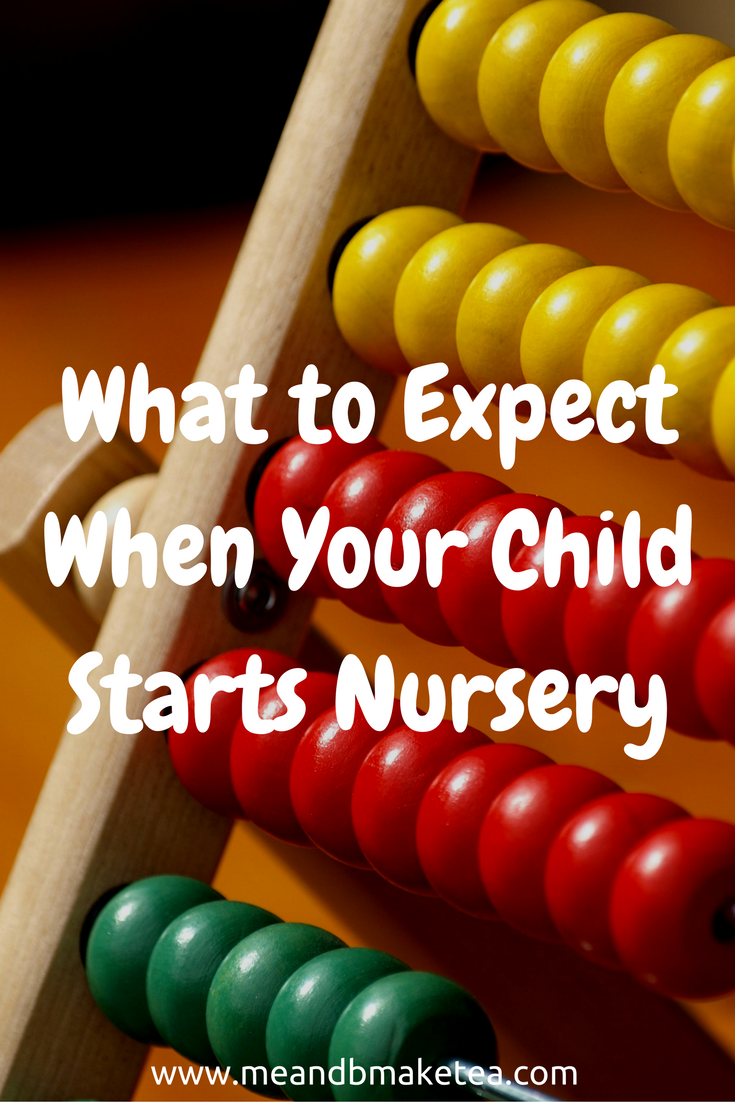 what to expect when your child starts nursery