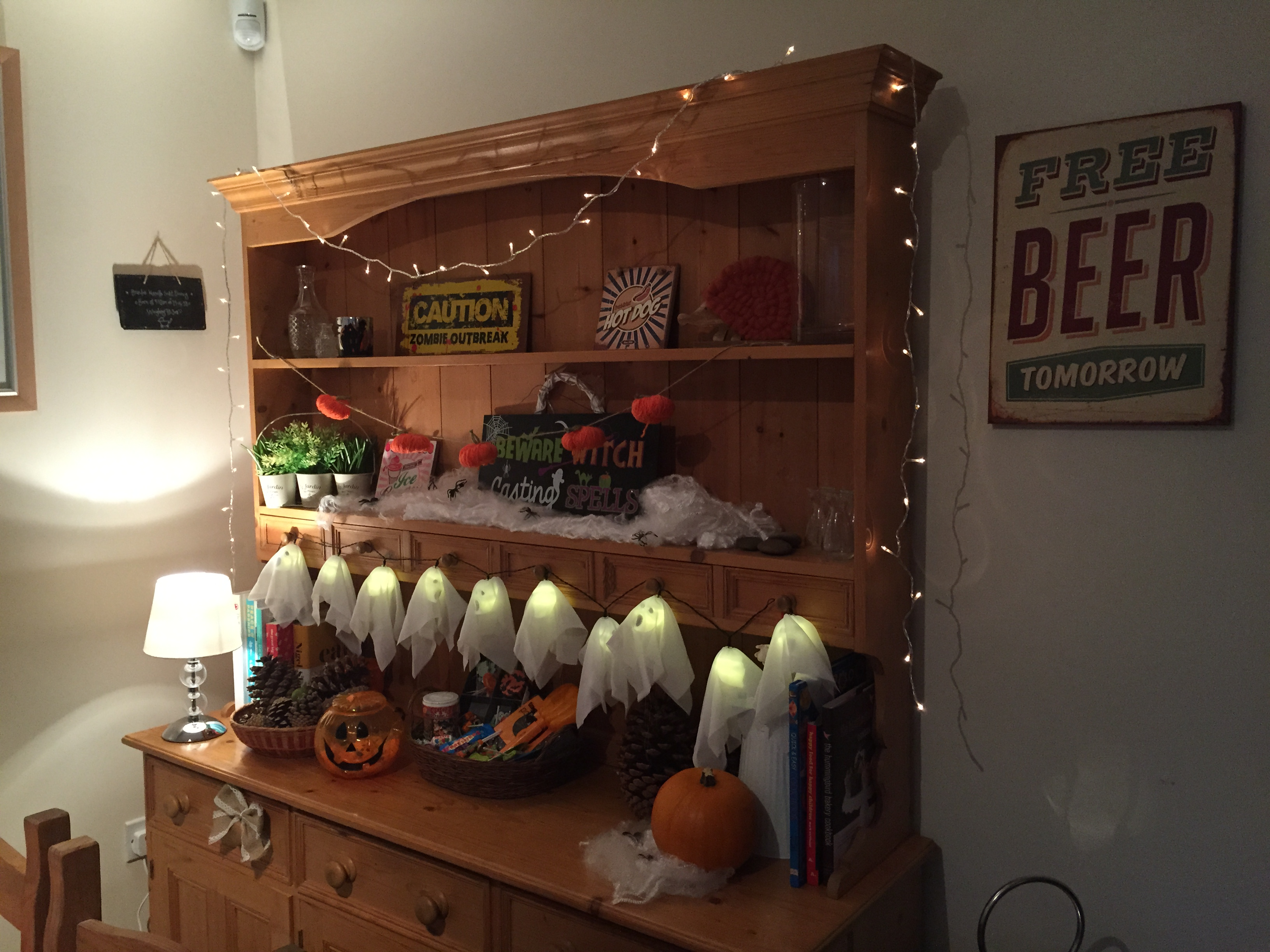 Home bargains bathroom cabinets - Halloween Home Bargains Ghost Led Lights Review Indoor Use Autumn Winter Halloween At Home Bargains