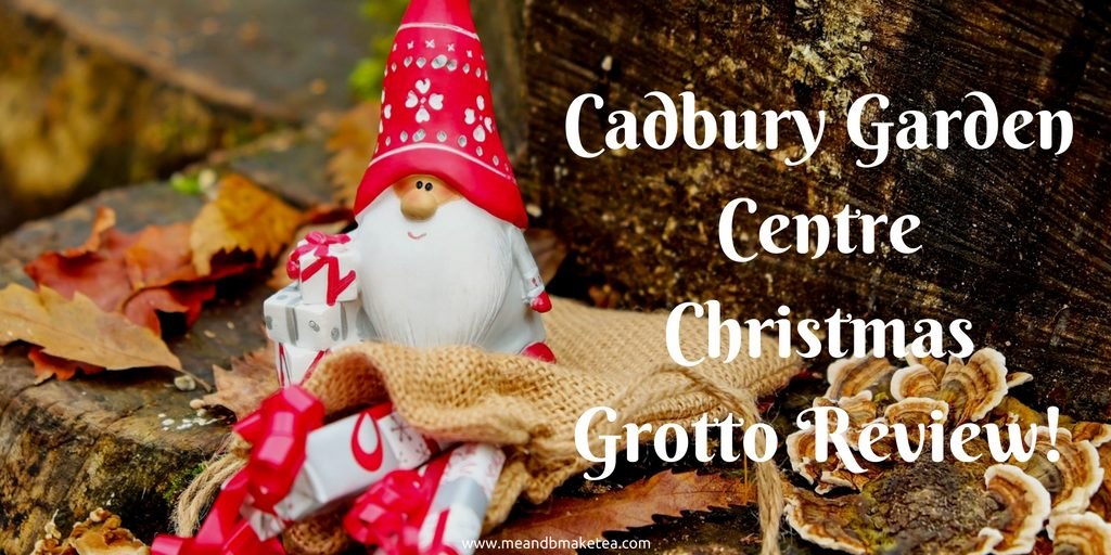 cadbury garden centre christmas 2016 pets fish santa grotto bristol soft play family review of the grotto