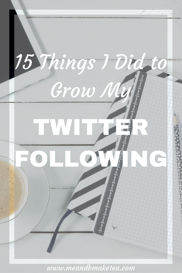 15 Things I Did to Grow My Twitter Following bloggers parenting bloggers seo marketing social media
