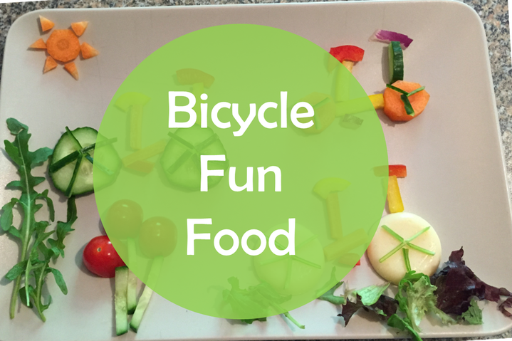 bike lunch sandwich party idea template easy to make toddler kid healthy