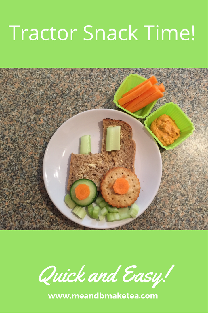 tractor lunch sandwich party idea template easy to make toddler kid healthy