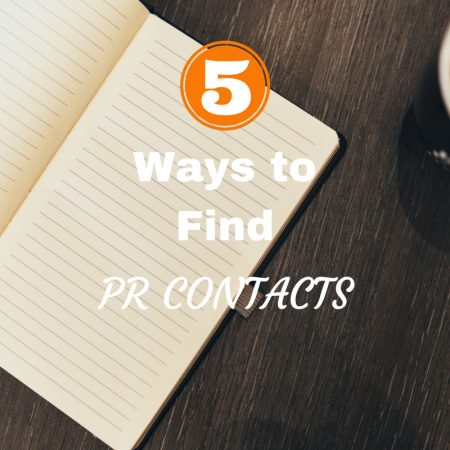 5 Ways to Find PR Contacts Online blogging tips for bloggers