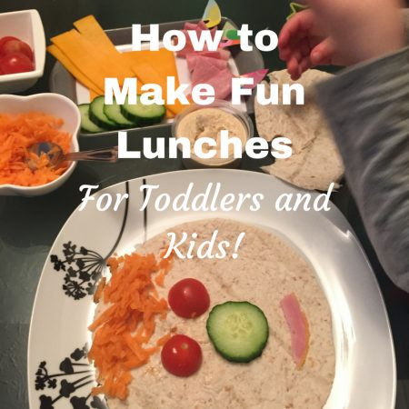 how to make healthy food fun for children - sandwich and lunch ideas