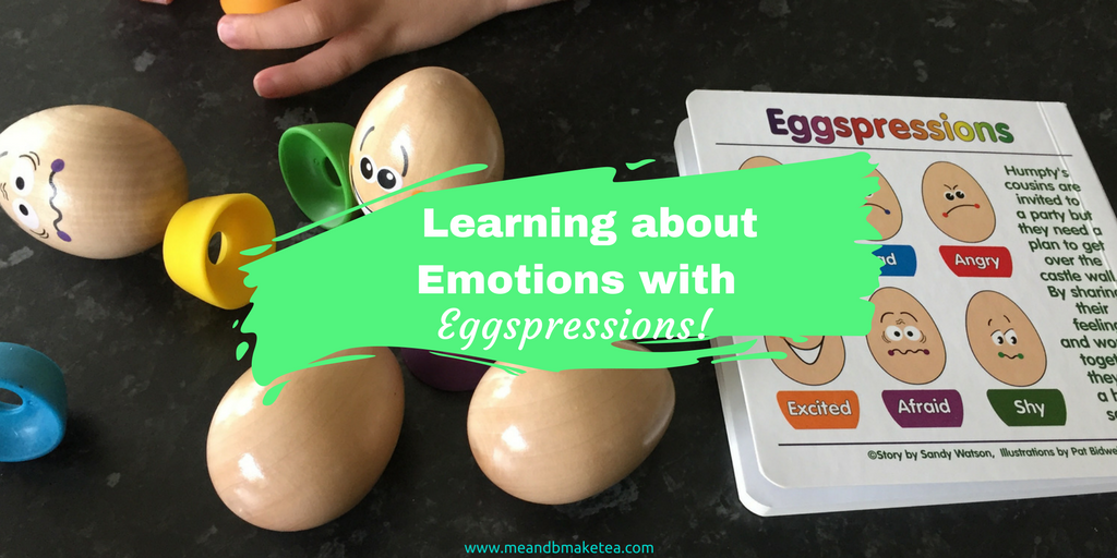 Eggspressions hape review learning about emotions with toddlers