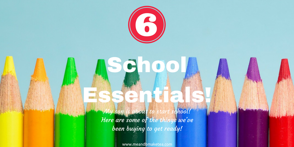 back to school essentials and what to buy boy primary school age