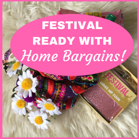 what to take to a festival essentials must haves with home bargains