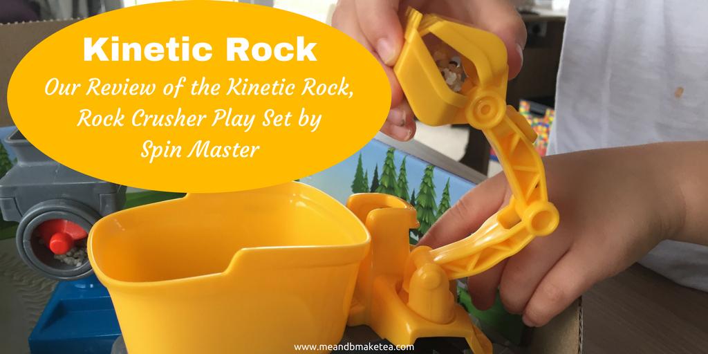 kinetic rock review crusher rock set