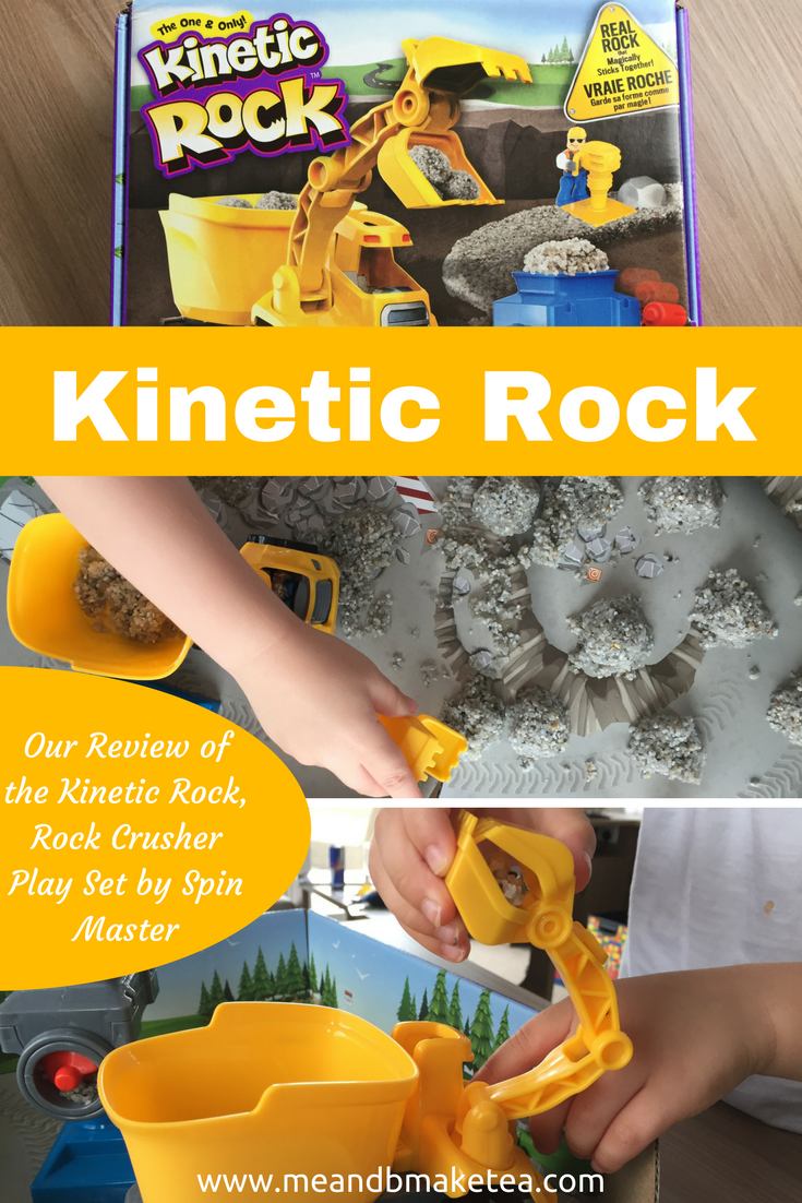 Our review of the Kinetic Rock Rock Crusher play set by Spin Master