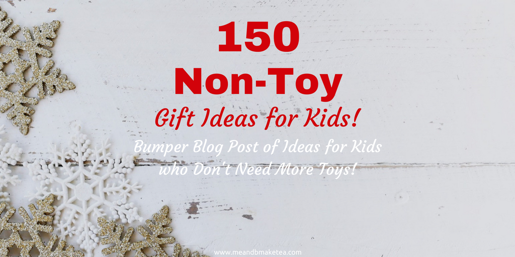 non toy gift ideas christmas for children kids families twitter