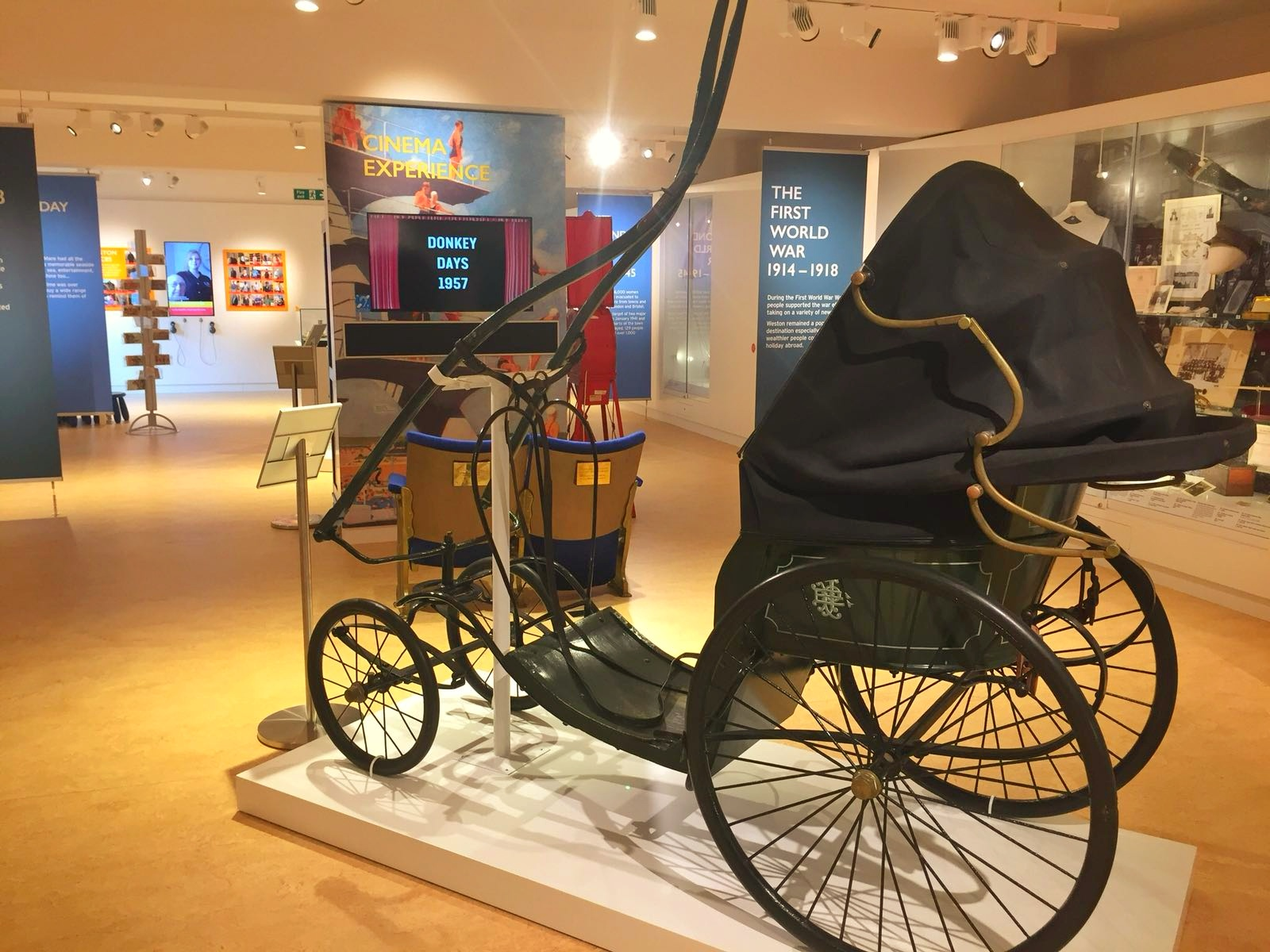 A Review of Weston Museum in Weston-super-Mare cart