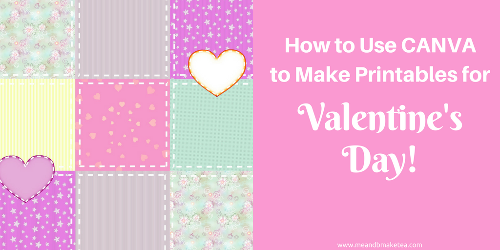 Want to use Canva to make super cute Valentine's Day printables for your home_ Take a look at my step-by-step tutorial