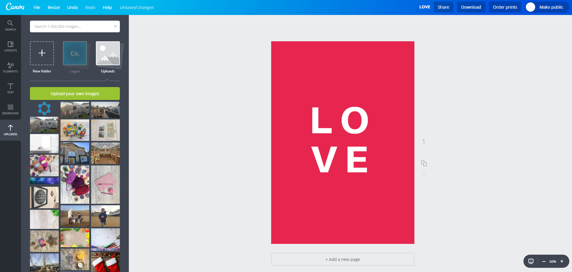 canva text change and spacing