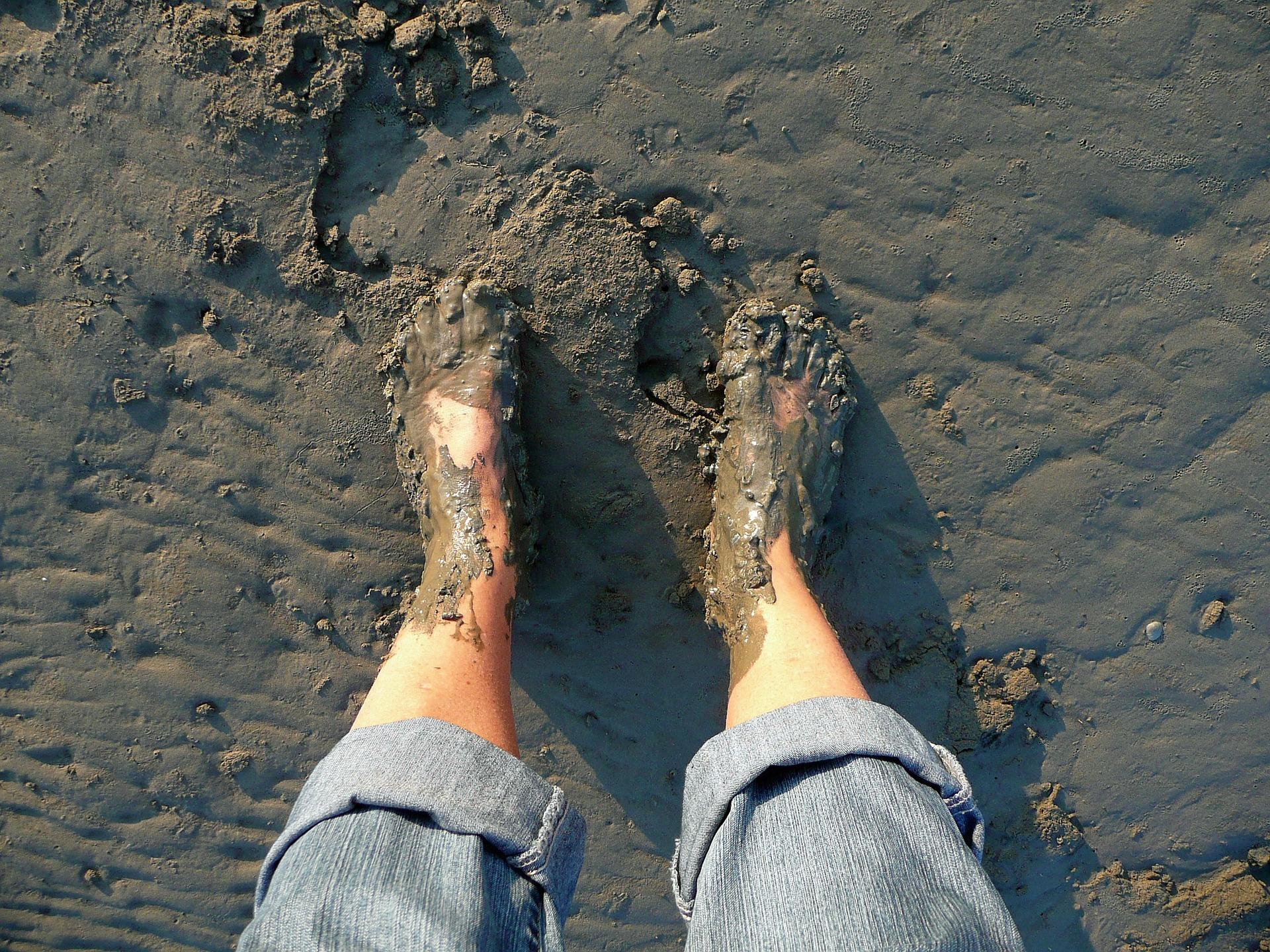 new years blues winter muddy feet