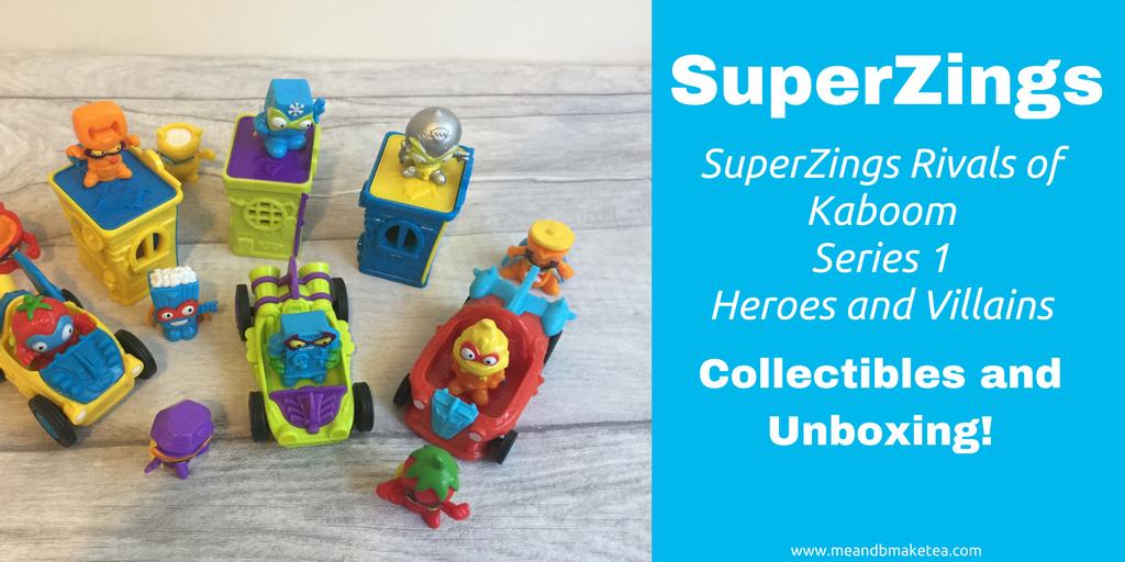 SuperZings Rivals of Kaboom Series 1 Heroes and Villains social thumbnail