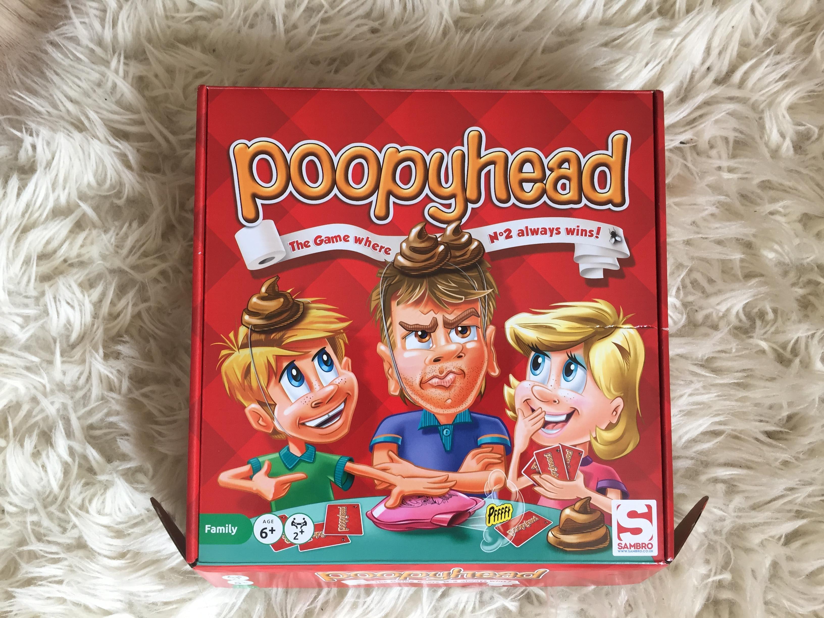 poopy head sambro game box review