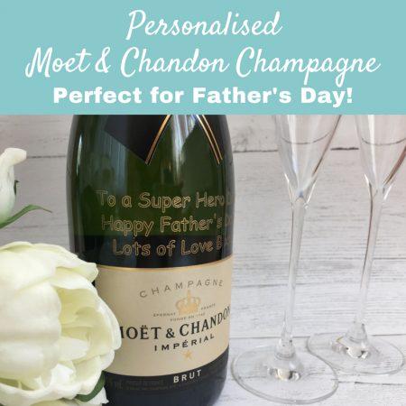 Personalised Moet Champagne GiftsOnline4U
