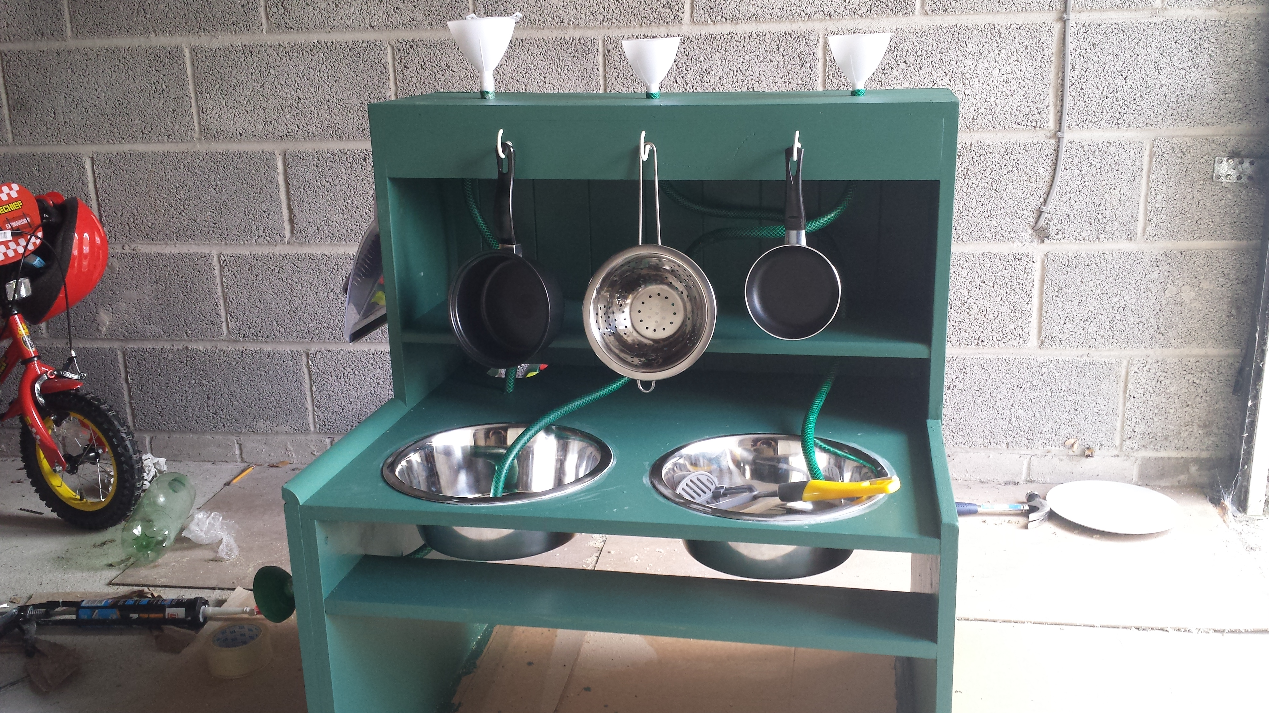 best mud kitchen items for outdoor play