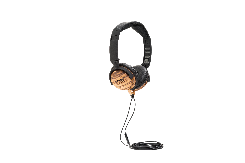 LSTN On-Ear Fillmore Wireless Wooden Headphones