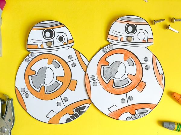Father's Day Crafts to Make With Kids free printable star wars card