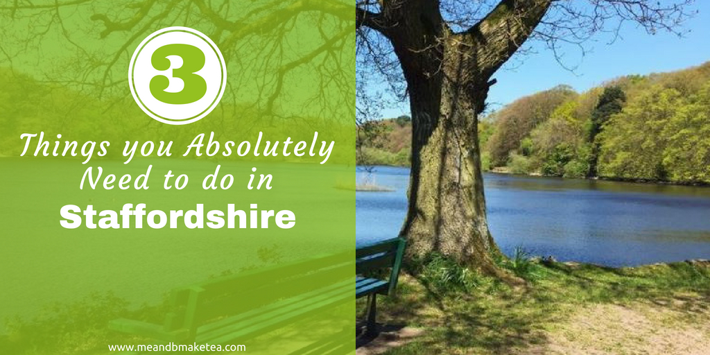 3 hidden gems in Staffordshire UK -