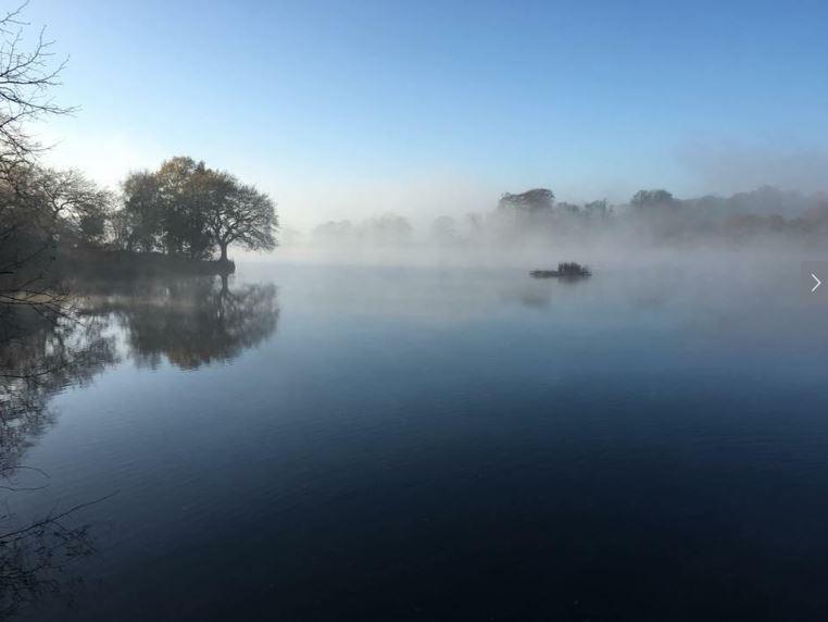 hidden gems in staffordhire and visiting knypersley reservoir in winter